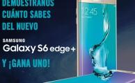 Participa en el concurso #GrandiosoS6EdgePlus , ¡regalamos 2 Samsung Galaxy S6 edge+!