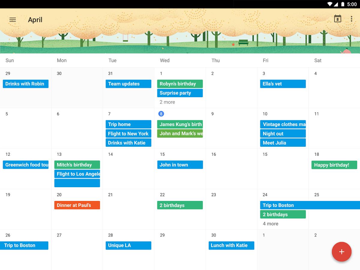 Calendar Google : Las mejores aplicaciones de calendario para tu