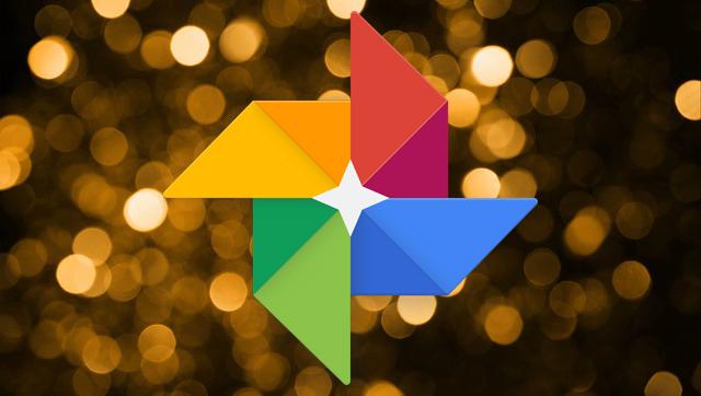 Google Photos w bokeh banner