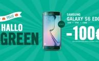 ¡Feliz HalloGREEN! Ven disfrazado y llévate el Samsung Galaxy S6 edge verde por 100€ menos