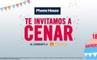 Ven a Phone House del 20 al 27 de octubre, ¡regalamos 20 cenas!
