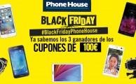 ¡Ya sabemos quiénes se llevan los 3 vales de 100€ en #BlackFridayPhoneHouse !