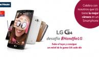 Súmate al desafío #HandfieLG, ¡puedes ganar un smartphone LG cada día!