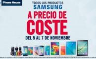 ¡Del 5 al 7 de noviembre todos los productos Samsung a precio de coste!