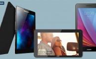 Comparamos 3 de las mejores tablets que encontramos por menos de 100€