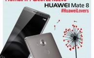 Participa en #HuaweiLovers y entra en el sorteo de un Huawei Mate 8