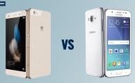 Comparativa: Samsung Galaxy J5 vs Huawei P8 Lite