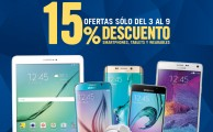 ¡Solo hasta el 9 de marzo! 15% de descuento en smartphones, tablets y wearables Samsung