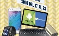 ¡Sólo del 17 al 23 de marzo, ofertas especiales en smartphones, tablets y wearables!