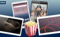 4 tablets para ver nuestras pelis y series favoritas