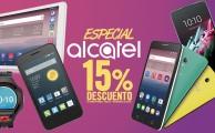 ¡Solo hasta el 30 de abril! 15% de descuento en smartphones, tablets y wearables Alcatel