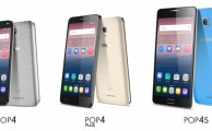 Nuevos smartphones Alcatel: Pop 4, Pop 4 Plus y Pop 4S