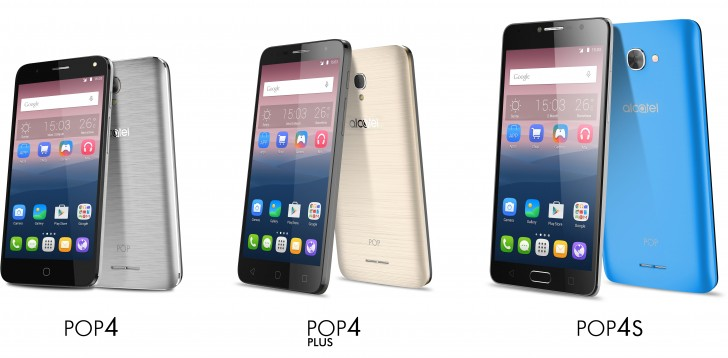 Nuevos smartphones Alcatel: Pop 4, Pop 4 Plus y Pop 4S ...