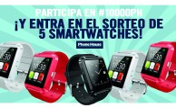 Sorteo #10000PH en Instagram, ¡regalamos 5 smartwatches!
