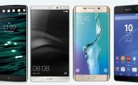 Los 4 mejores phablets o smartphones con más de 5 pulgadas