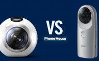 Comparativa Samsung Gear 360º VS LG Cam 360º