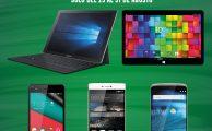 Celebramos la vuelta al cole con ofertas especiales del 25 al 31 en smartphones y tablets
