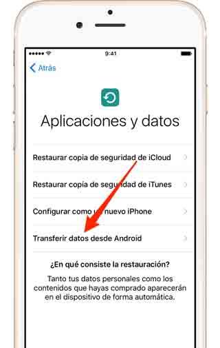 transferir-datos-desde-android-a-ios