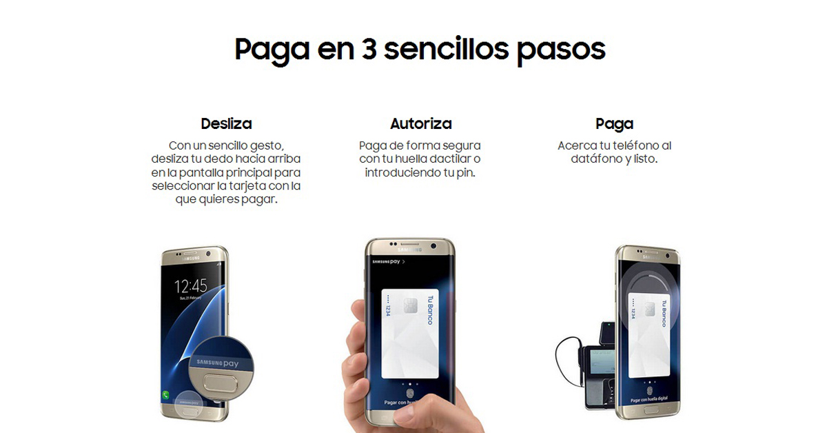 pago samsung pay
