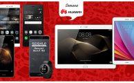 Semana Huawei con ofertas especiales en smartphones y tablets