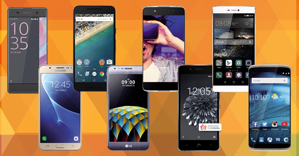 smartphones menos de  300€