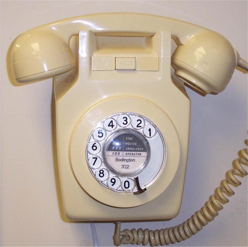 telefono disco