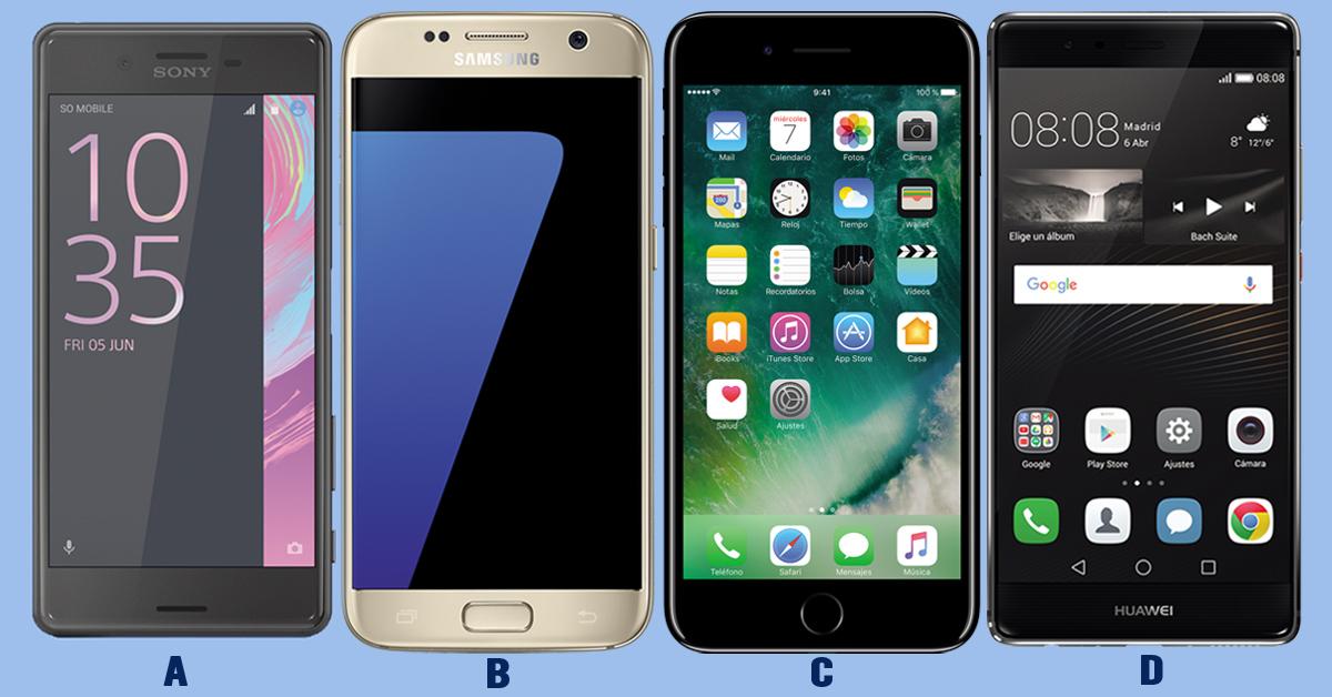 Smartphones gama alta