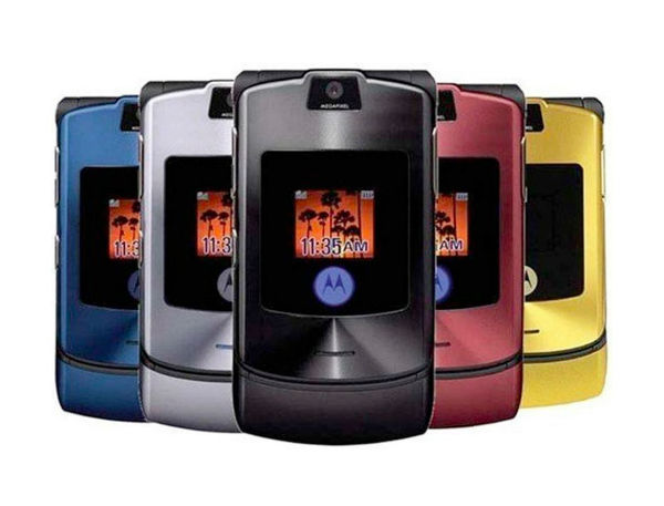 The Motorola Razr V3
