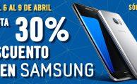 Solo hasta el 9 de abril, descuentos de hasta el 30% en Samsung