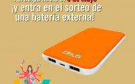 Participa en #MásFindeParaMamá y entra en el sorteo de una batería externa