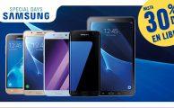 Special Days de Samsung del 15 al 21 de mayo: hasta 30% de descuento en smartphones libres