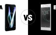 Comparamos el Sony Xperia XA1 vs BQ Aquaris X