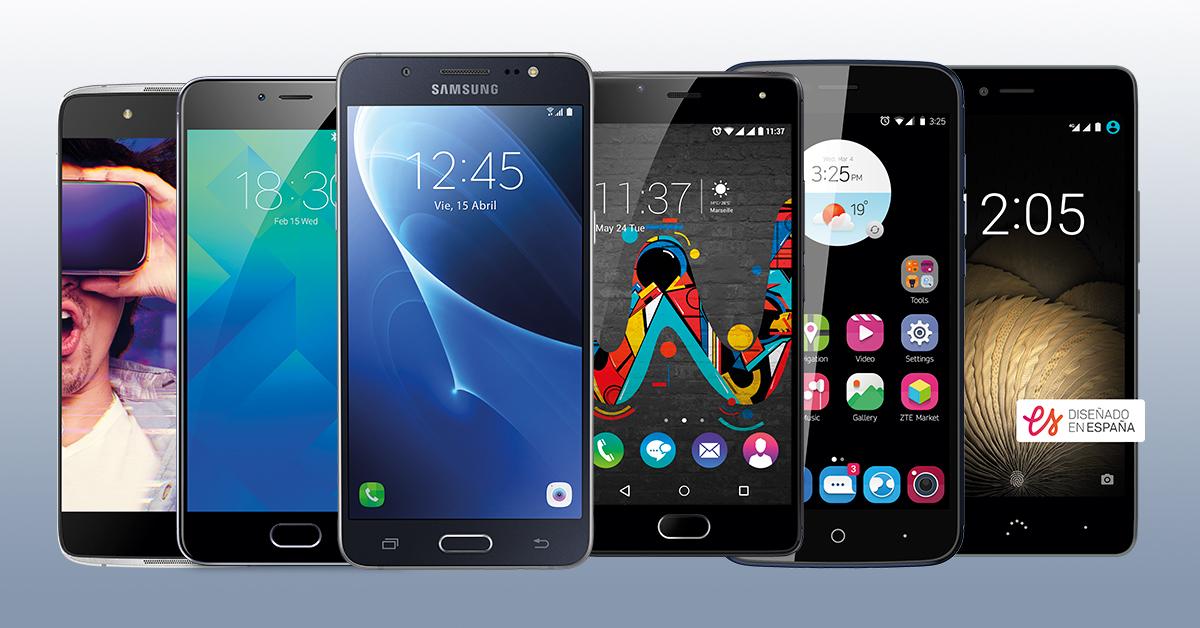 Bodegón Smartphones menos de 200€