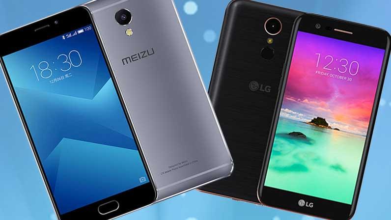 Meizu M5 Note LG K10 2017