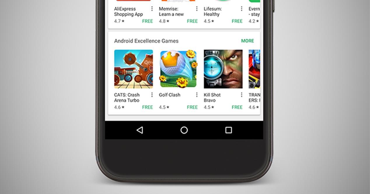 Android Excellence, Google ahora destaca las mejores apps de su tienda