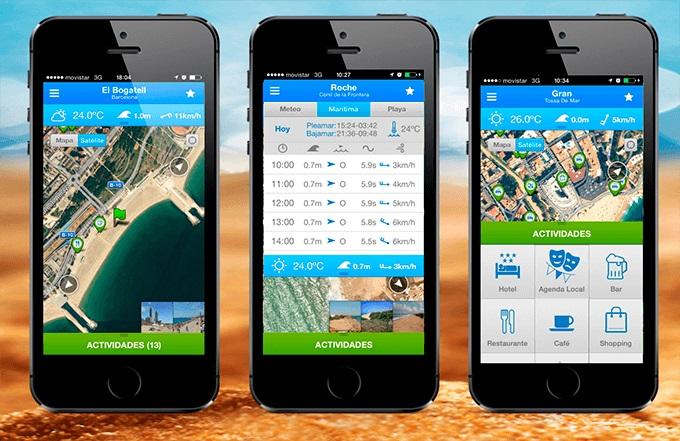 Mejores aplicaciones para planear vacaciones