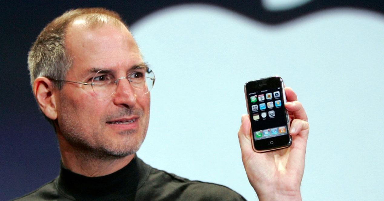 """Steve Jobs quería un botón de """"atrás"""" en el iPhone"""
