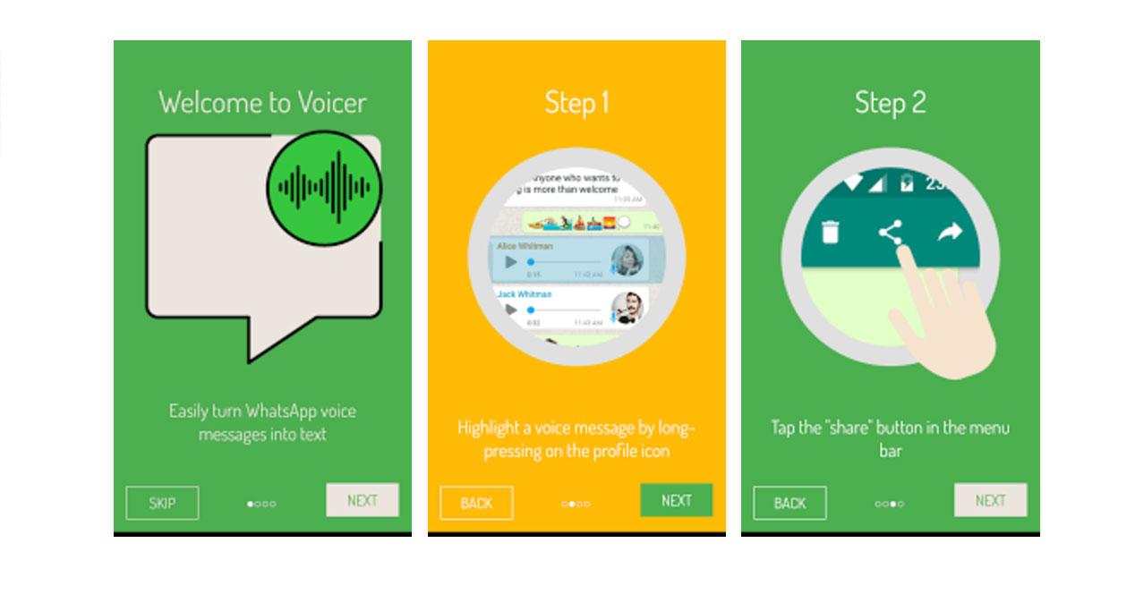 Convierte los mensajes de voz de WhatsApp en texto