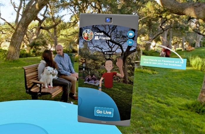 Facebook dejará emitir en directo desde su aplicación de realidad virtual