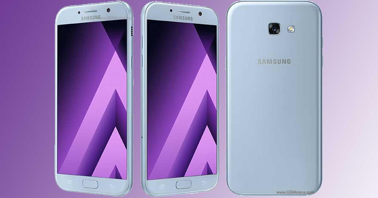 Android 7 en el Samsung Galaxy A7