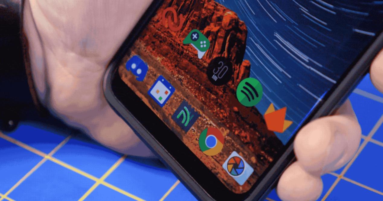 navegacion del Samsung Galaxy S8