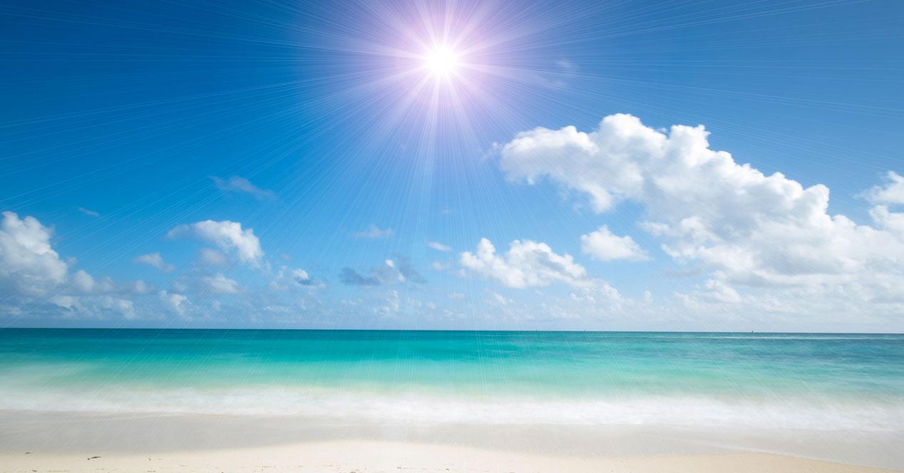 Trucos para hacer buenas fotos en la playa