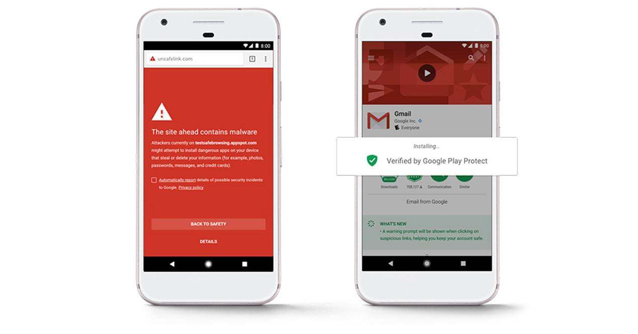 Google Play Protect: una nueva manera de mantener seguro tu teléfono móvil