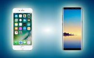 Comparativa: Samsung Galaxy Note8 VS. iPhone 7