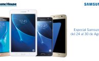 ¡Solo hasta el 30 de agosto hasta 32% de descuento en Smartphones y Tablets Samsung!
