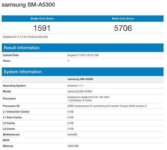 El nuevo Samsung Galaxy A5 de 6 GB de RAM es una realidad