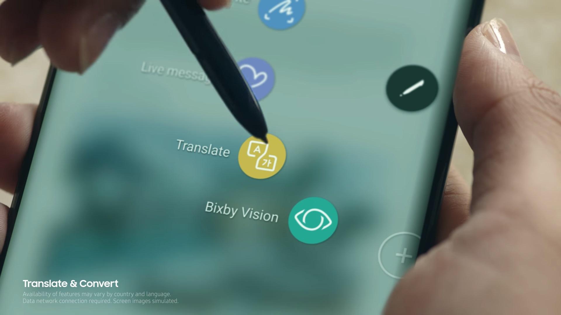Samsung Galaxy Note8: así es el S Pen, la nueva manera de comunicarse