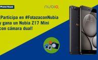 ¡Participa en nuestro sorteo #FotazaConNubia y gana un Nubia Z17 Mini con cámara dual!