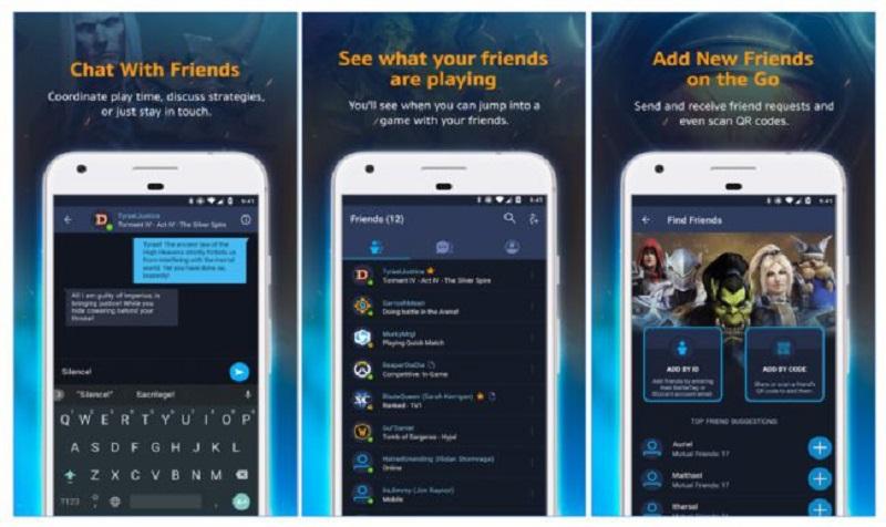 Battle.net llega a Android: el famoso chat da el salto a smartphones