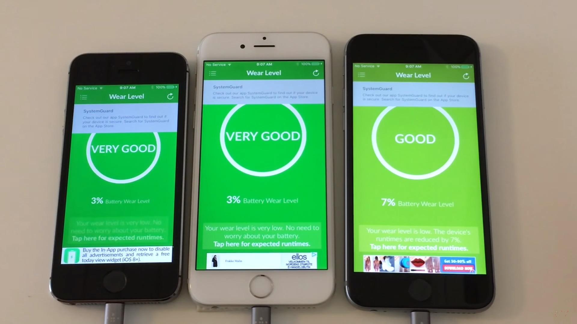 Comparativa de batería entre iOS 11 vs. iOS 10, ¿dónde dura más?